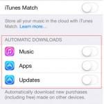iOS ปิดโหมด Automatic Updates