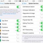 iOS ปิด Location Services บางแอพที่ไม่จำเป็นต้องใช้งาน