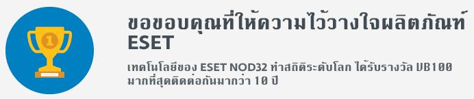 NOD32 10 Year Best Antivirus